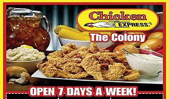 Chicken express coupons denton tx